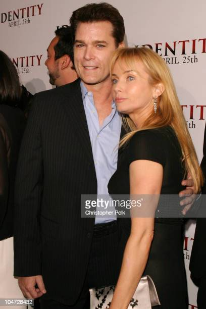 Ray Liotta and Rebecca De Mornay during World Premiere of 'Identity' at Grauman's Chinese Theatre in Hollywood California United States