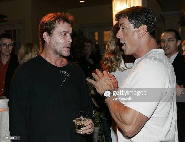 Ray Liotta and Sylvester Stallone during 2004 Pre-Emmy Party Hosted By Endeavor Agency at Private Residence in Beverly Hills, California, United...