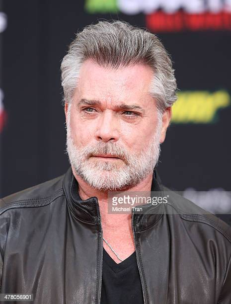 """Ray Liotta arrives at the Los Angeles premiere of """"Muppets Most Wanted"""" held at the El Capitan Theatre on March 11, 2014 in Hollywood, California."""