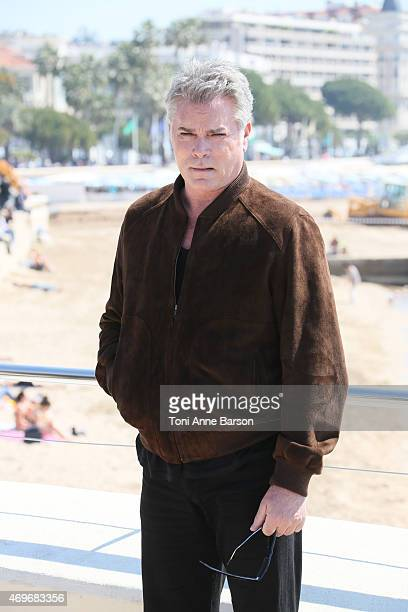 Ray Liotta attends Texas Rising Photocall as part of MIPTV 2015 on April 13 2015 in Cannes France