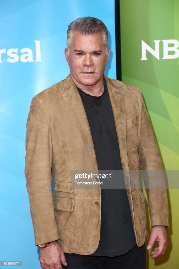 Ray Liotta attends the NBCUniversal Summer Press Day 2018 at Universal Studios Backlot on May 2, 2018 in Universal City, California.