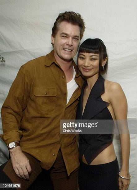 Ray Liotta Bai Ling during Endeavor's MTV Movie Awards Party Featuring Ciroc Vodka And LG Mobile Phones at Dolce in West Hollywood California United...
