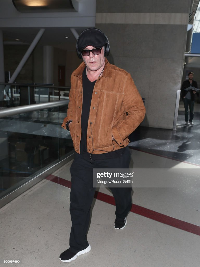 Ray Liotta is seen at Los Angeles International Airport on January 02, 2018 in Los Angeles, California.