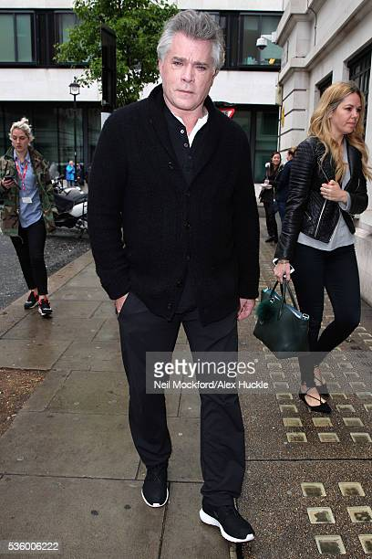 Ray Liotta seen at the BBC Radio 2 Studios on May 31 2016 in London England