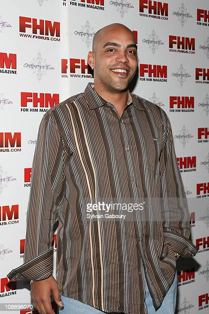 Ray Lucas during FHM Party for the NFL Players Draft at Gypsy Tea in New York, NY, United States.