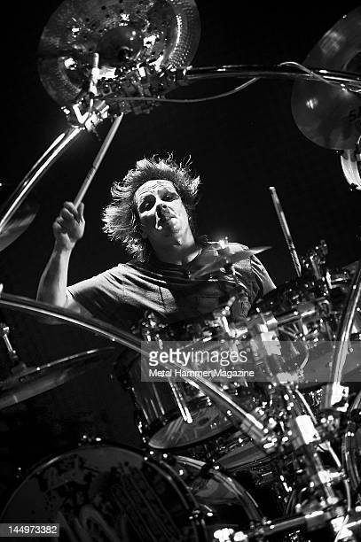 Ray Luzier of Korn performs live on stage at Ozzfest on September 18 2010