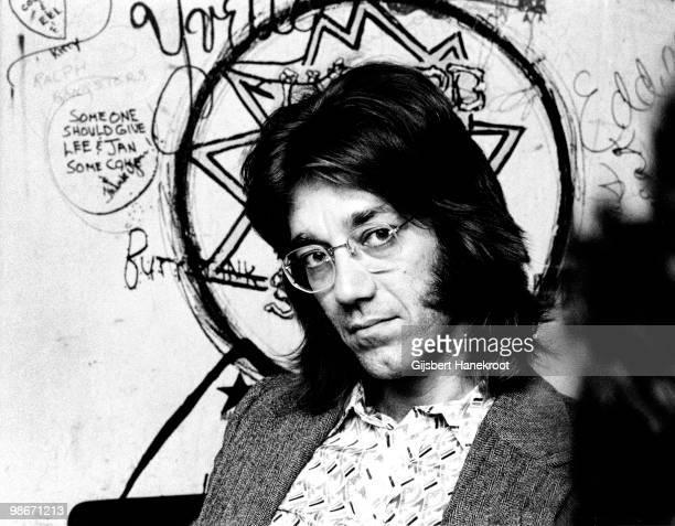Ray Manzarek from The Doors posed in Los Angeles CA in 1974