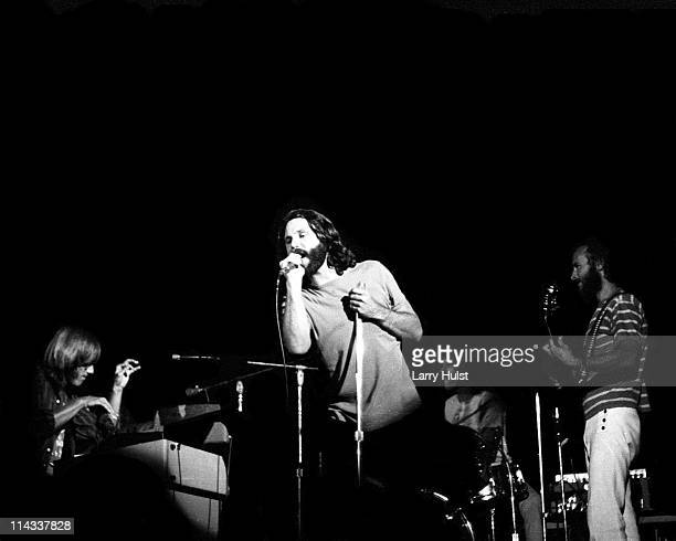 Ray Manzarek Jim Morrison Jim Densmore and Robby Krieger The Doors perform at the Sports Arena in San Diego California on August 22 1970