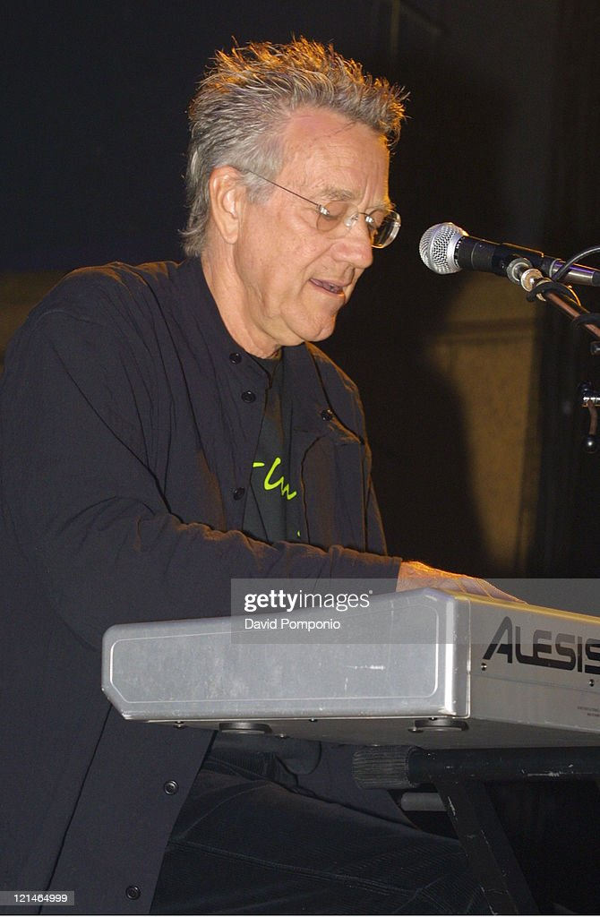 Ray Manzarek of The Doors of the 21st Century during The Doors of the 21st Century in Concert - May 5, 2004 at Roseland Ballroom in New York City, New York, United States.
