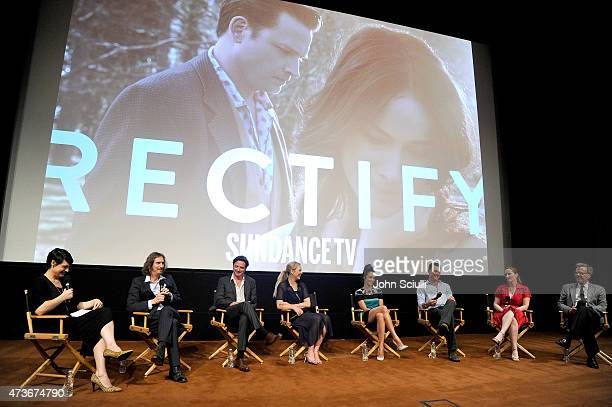 Ray McKinnon Creator/Writer/Executive Producer of ÒRectifyÓ ActorsÊAden Young Adelaide Clemens Abigail Spencer Clayne Crawford Executive Producers of...