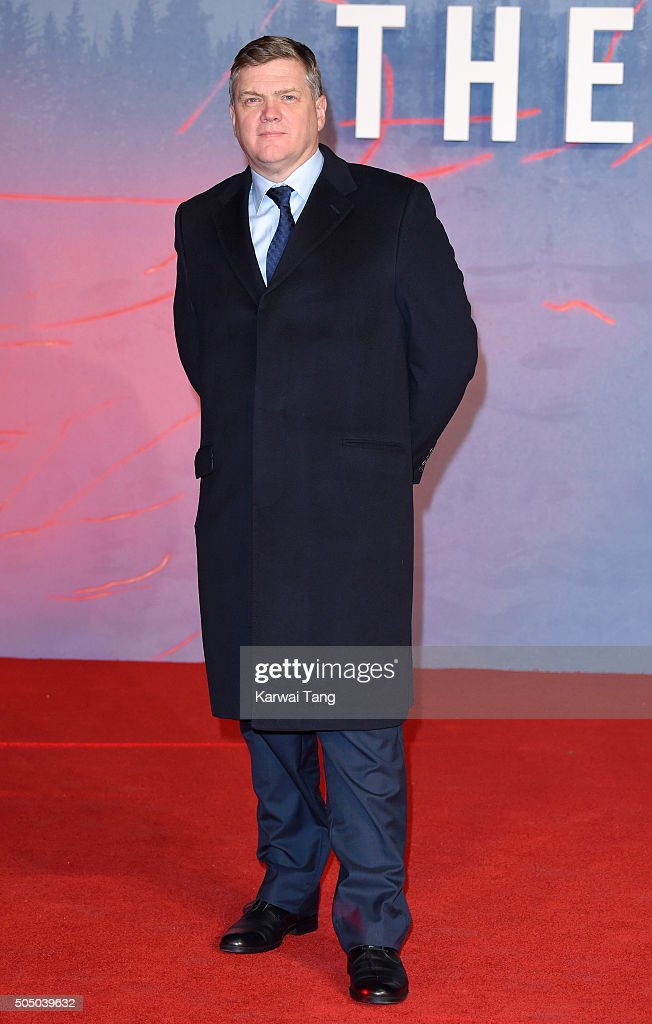 Ray Mears attends UK Premiere of 'The Revenant' at Empire Leicester Square on January 14, 2016 in London, England.