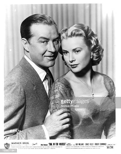Ray Milland and Grace Kelly in a scene from the film 'Dial M For Murder' 1954