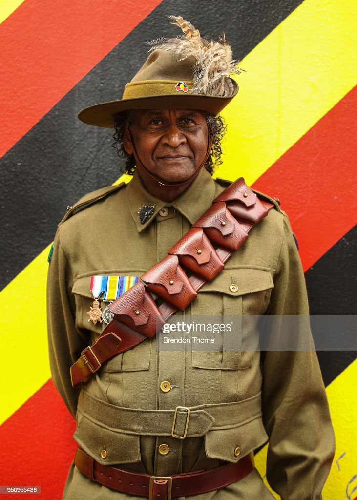 Indigenous Australians Honoured On Anzac Day At Coloured Diggers March TBC