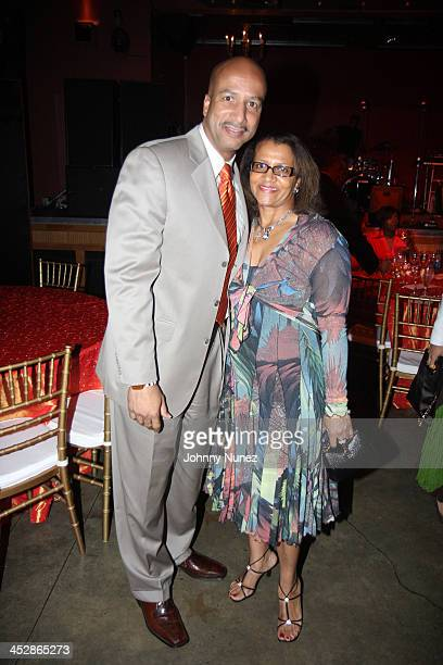 Ray Nagin and Seletha Smith Nagin attend the Mayor's Dinner at Generation Hall on July 3 2008 in New Orleans