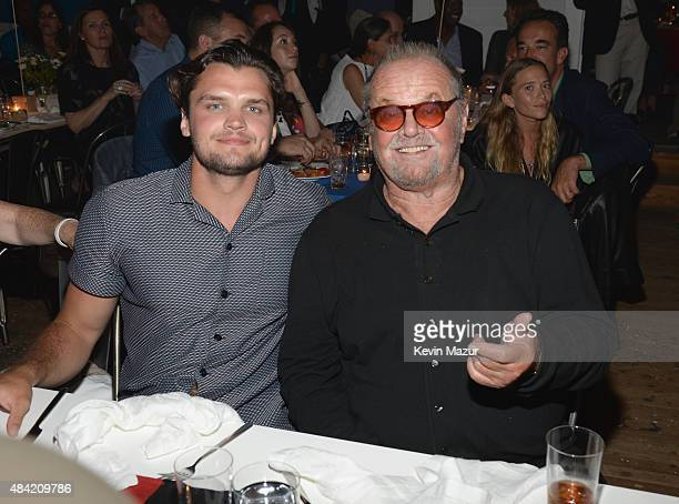 Ray Nicholson and Jack Nicholson attends Apollo in the Hamptons 2015 at The Creeks on August 15 2015 in East Hampton New York
