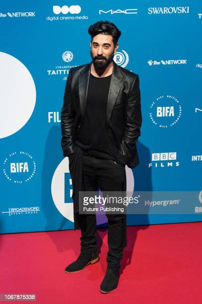 Ray Panthaki attends the 21st British Independent Film Awards at Old Billingsgate in the City of London December 02 2018 in London United Kingdom