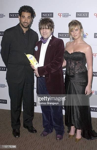 Ray Panthaki Ian Tucker and Brook Kinsella during Cystic Fibrosis Trust Breathing Life Awards Press Room at Royal Lancaster Hotel in London Great...