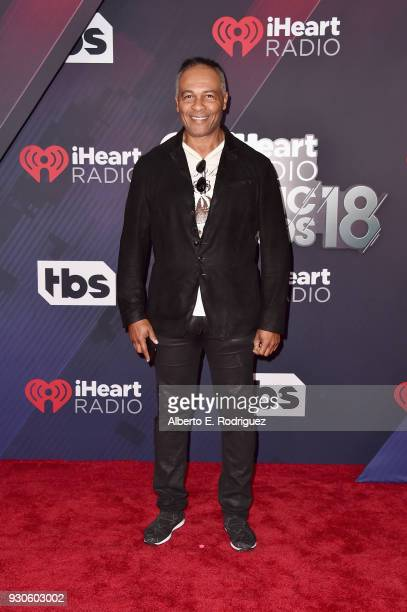 Ray Parker Jr. Arrives at the 2018 iHeartRadio Music Awards which broadcasted live on TBS, TNT, and truTV at The Forum on March 11, 2018 in...