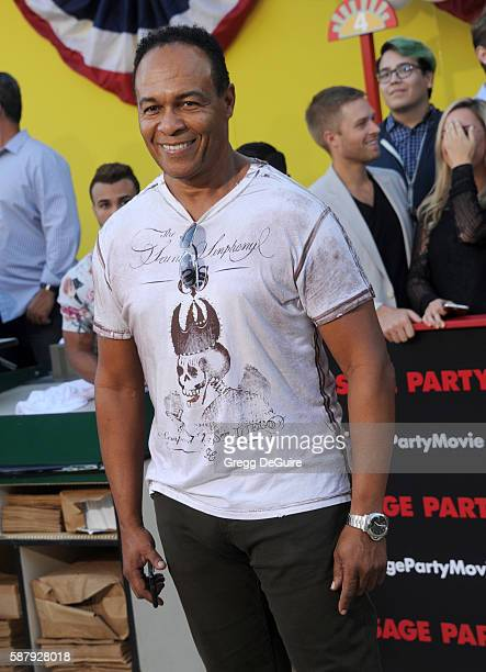 """Ray Parker Jr. Arrives at the premiere of Sony's """"Sausage Party"""" at Regency Village Theatre on August 9, 2016 in Westwood, California."""