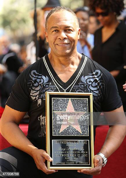 Ray Parker Jr. Attends the ceremony honoring him with a Star on The Hollywood Walk of Fame on March 6, 2014 in Hollywood, California.