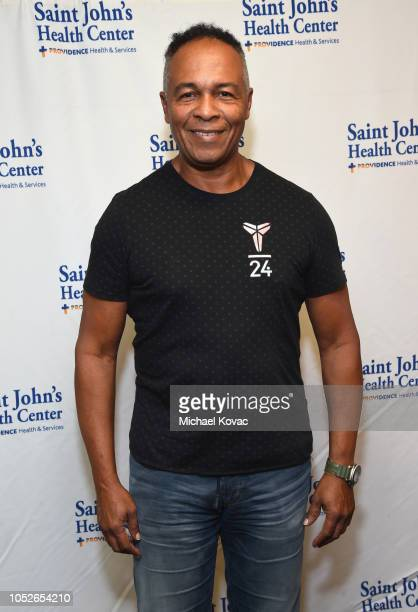 Ray Parker Jr. Attends the Saint John's Health Center Foundation Gala at The Beverly Hilton Hotel on October 20, 2018 in Beverly Hills, California.