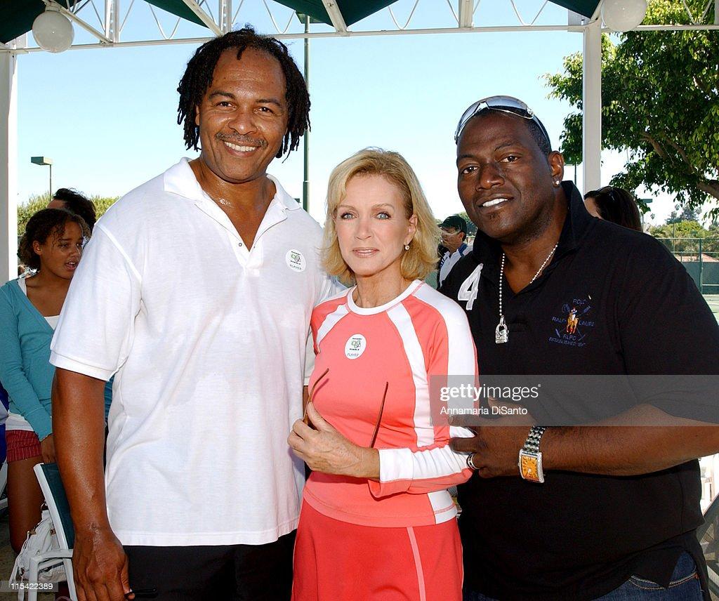 TJ Martell / Neil Bogart Foundation 2006 Racquet Rumble Tennis Tournament : News Photo