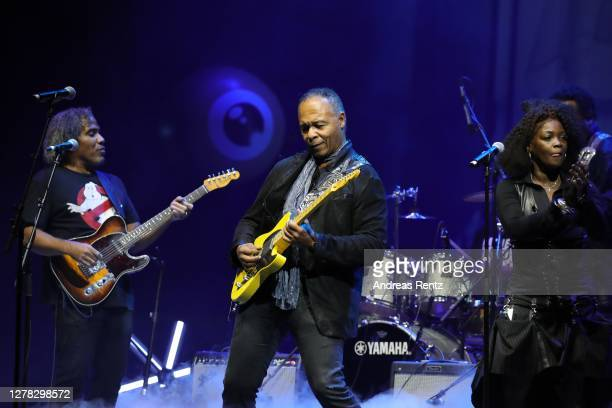Ray Parker Jr performs at the Award Night Ceremony of the 16th Zurich Film Festival at Opera House on October 03, 2020 in Zurich, Switzerland.