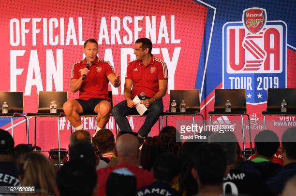 Ray Parlour former Arsenal player during the Arsenal fan Party at the Ritz Carlton Marina Del Ray on July 16, 2019 in Los Angeles, California.
