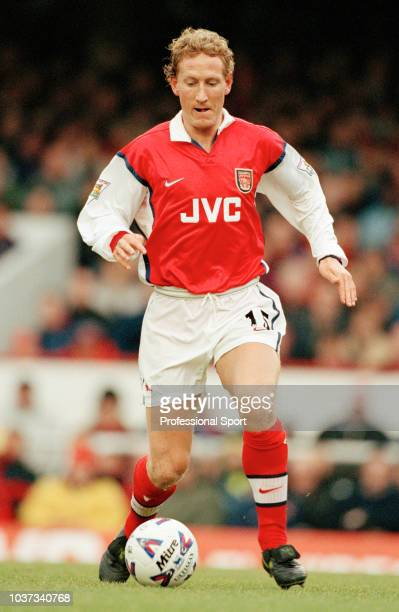 Ray Parlour of Arsenal in action at Highbury in London, England, circa 1999.