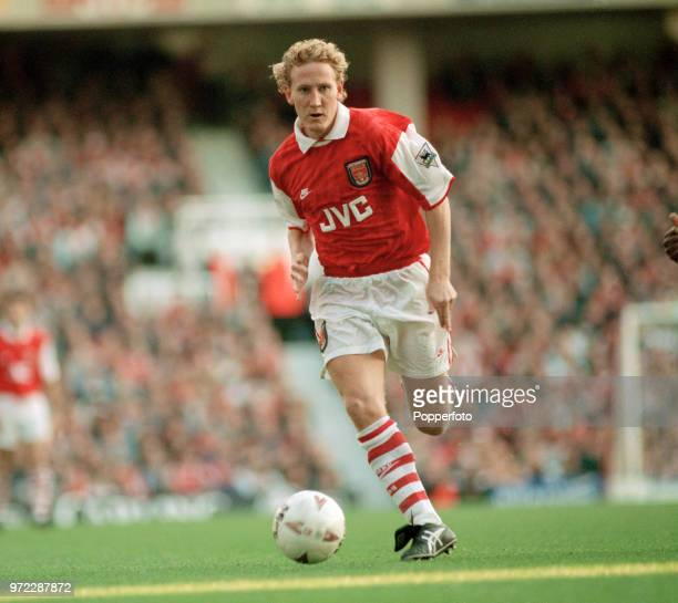 Ray Parlour of Arsenal in action at Highbury in London, England, circa 1995.