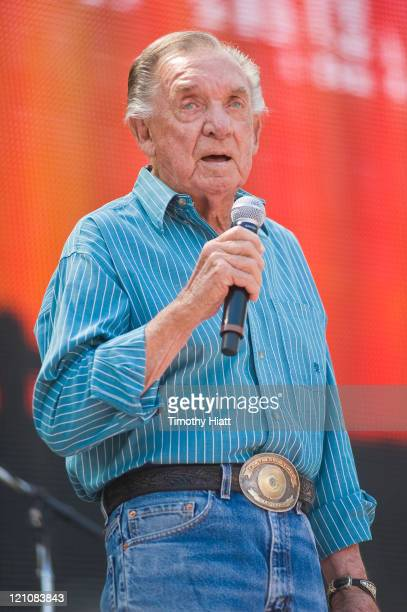 Ray Price performs during Farm Aid 2011 at the LiveStrong Sporting Park on August 13 2011 in Kansas City Kansas