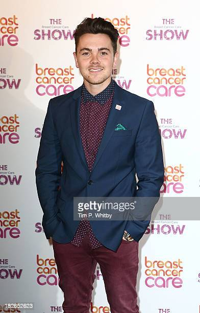 Ray Quinn arriving at the afternoon performance of the Breast Cancer Care Fashion Show at Grosvenor House on October 2 2013 in London England