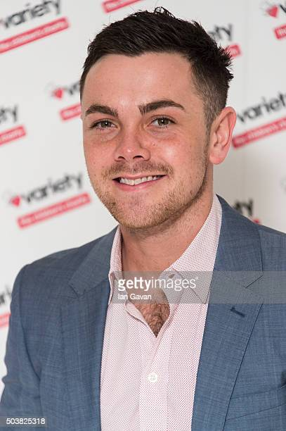 Ray Quinn attends a Torvill and Dean tribute lunch in aid of Variety at The Dorchester on January 7 2016 in London England