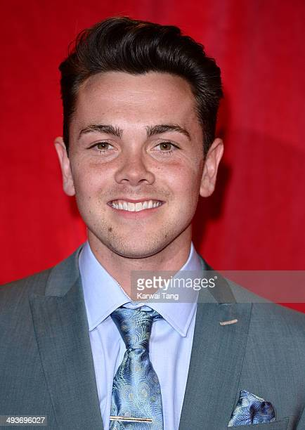 Ray Quinn attends the British Soap Awards held at the Hackney Empire on May 24 2014 in London England