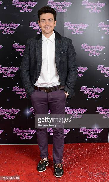 Ray Quinn attends the series launch photocall for Dancing on Ice held at the London Studios on January 2 2014 in London England
