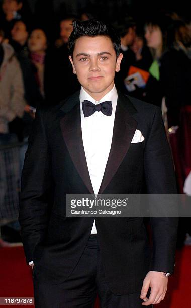 Ray Quinn during The Mastercard Brit Awards 2007 Outside Arrivals at Earls Court in London Great Britain