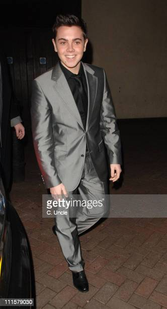 Ray Quinn during X Factor Party Arrivals at Sound Leicester Square in London Great Britain
