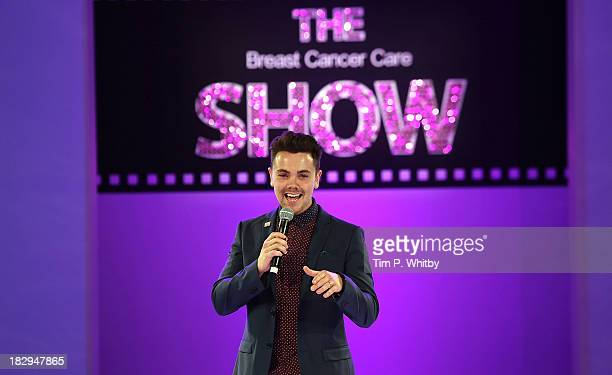 Ray Quinn performing at the afternoon performance of the Breast Cancer Care Fashion Show at Grosvenor House on October 2 2013 in London England
