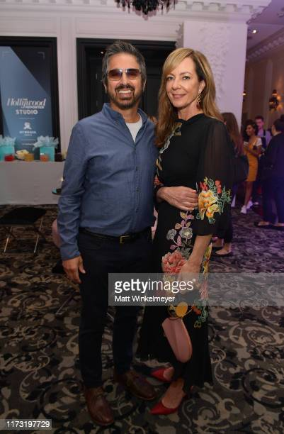 Ray Romano and Allison Janney attend The Hollywood Reporter TIFF Studio presented by St Regis MAC and Martell at The St Regis Toronto on September 08...