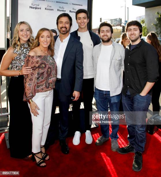 Ray Romano and family attend the premiere of Amazon Studios and Lionsgate's 'The Big Sick' at ArcLight Hollywood on June 12 2017 in Hollywood...