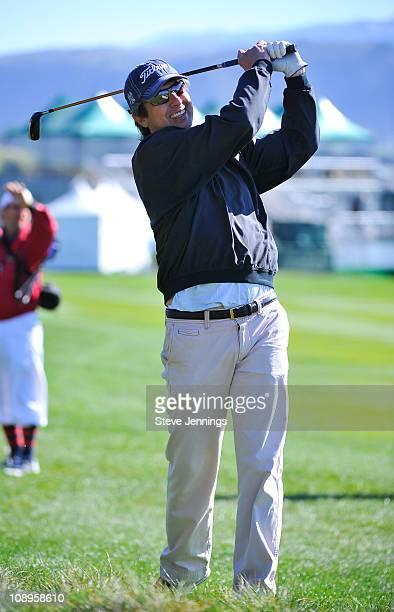 Ray Romano attends the ATT Pebble Beach National ProAm at Pebble Beach Golf Links on February 9 2011 in Pebble Beach California