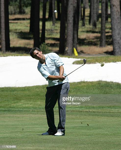 Ray Romano during American Century Celebrity Golf Championship July 16 2006 at Edgewood Tahoe Golf Course in Lake Tahoe California United States