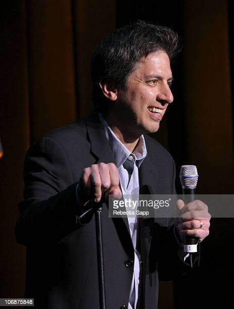 """Ray Romano during The Children Affected by AIDS Foundation Presents """"Night of Comedy IV"""" Fundraising Event at Wilshire Theatre in Beverly Hills,..."""