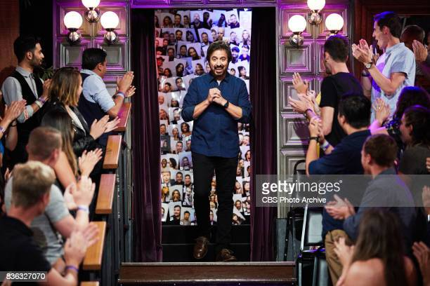 Ray Romano greets the audience during 'The Late Late Show with James Corden' Thursday August 17 2017 On The CBS Television Network