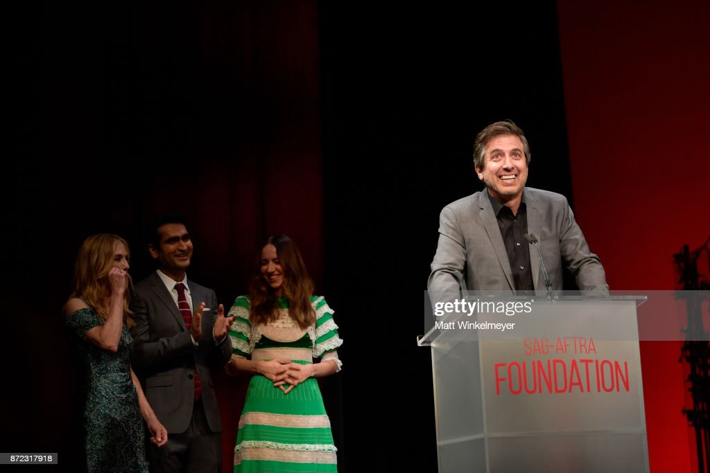 Ray Romano speaks onstage at the SAG-AFTRA Foundation Patron of the Artists Awards 2017 at the Wallis Annenberg Center for the Performing Arts on November 9, 2017 in Beverly Hills, California.