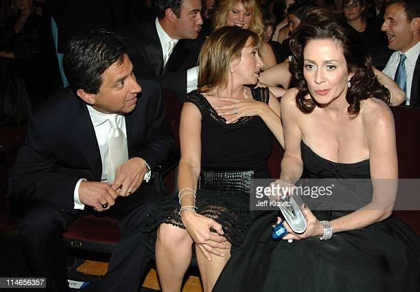 Ray Romano with wife Anna Scarpulla and Patricia Heaton *Exclusive Coverage*