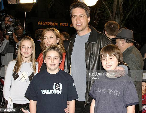 Ray Romano with wife Anna Scarpulla daugther Alexandra and twins Matthew and Gregory