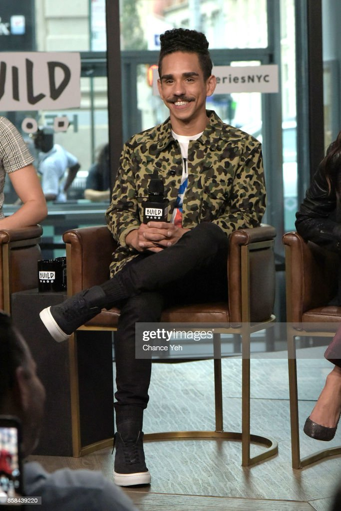 Ray Santiago attend Build series to discuss 'Ash Vs Evil Dead' at Build Studio on October 6, 2017 in New York City.