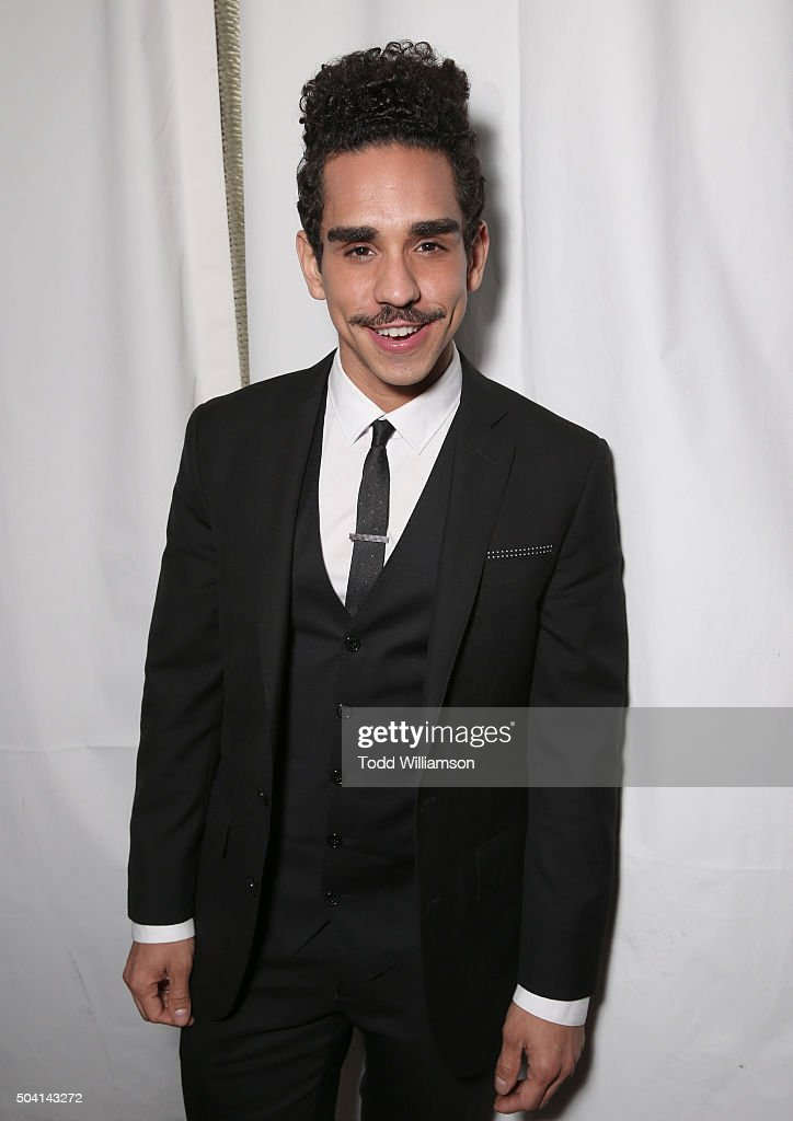 Ray Santiago attends the Starz Pre-Golden Globe Celebration at Chateau Marmont on January 8, 2016 in Los Angeles, California.
