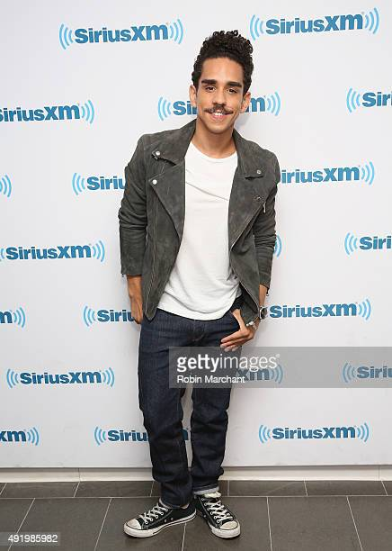 Ray Santiago visits at SiriusXM Studios on October 9 2015 in New York City